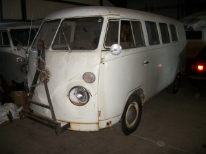 1967 VW van white California