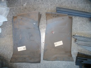 Rust repair panels