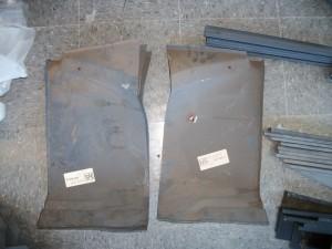 Rust repair panels
