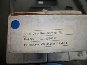 N.O.S. speaker set
