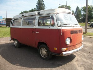 1971 VW van camper