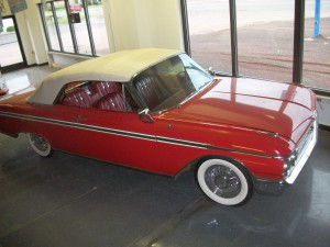 1962 Ford Galaxie 500 XL convertible. SURVIVOR not restoration.