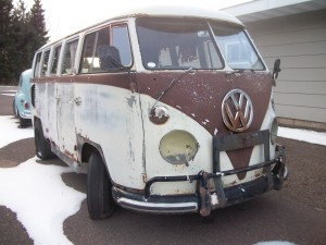 1966 VW deluxe (grey white)
