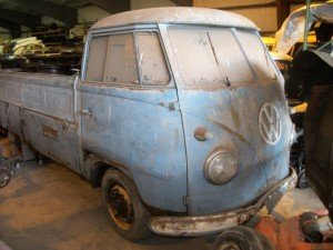 1958 VW truck single cab in storage for over 30 years
